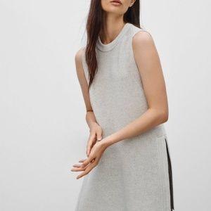 Aritzia Wilfred XXS Palmier Wool Vest